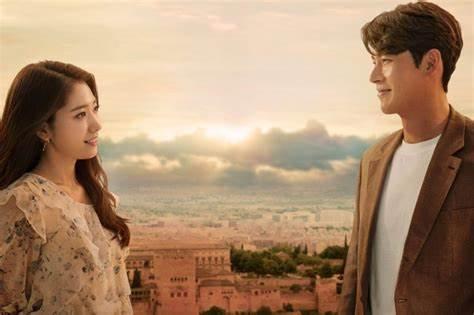 Scene from Korean drama Memories of the Alhambra