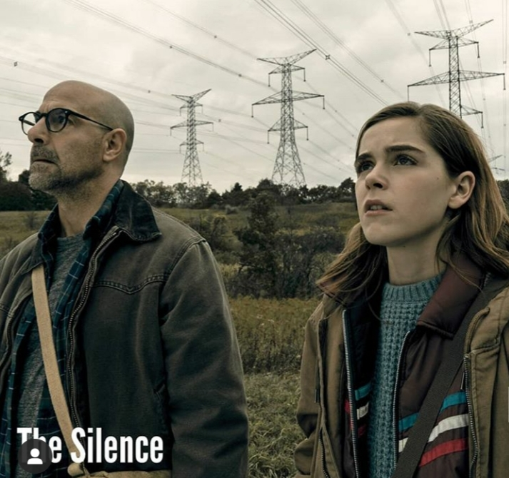Scene from scary movie The Silence