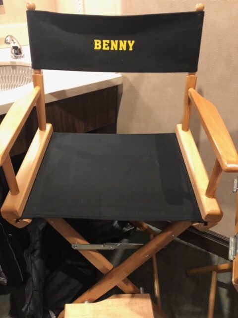 Disney Stargirl director's chair