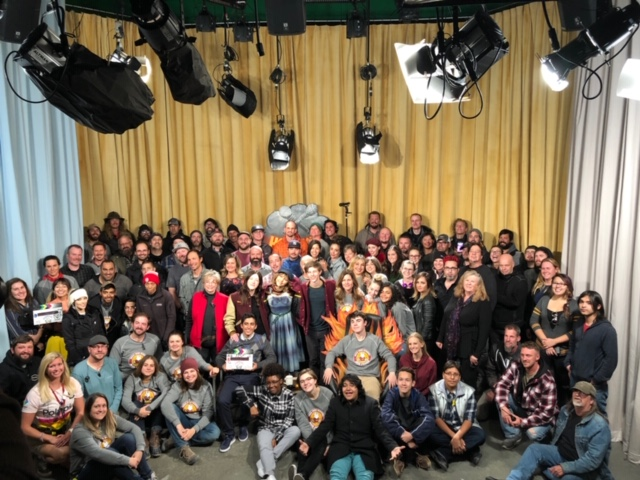 The cast and crew of Stargirl