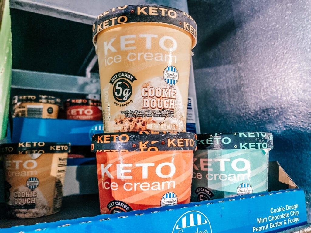 Aldi KETO Ice Cream