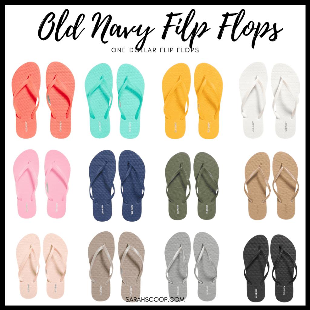 """Alt=""""Old Navy $1 Flip Flop Sale"""""""