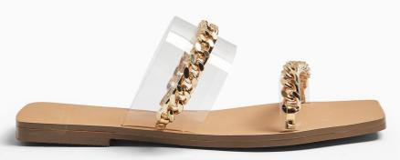 """Alt=""""Topshop Chain Sandal"""""""