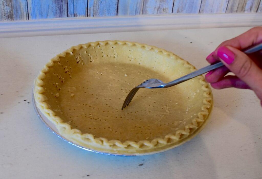 Puncture Pie Crust