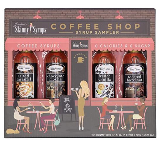 """Alt="""" Jordan's Skinny Syrup Coffee Shop Sampler"""""""