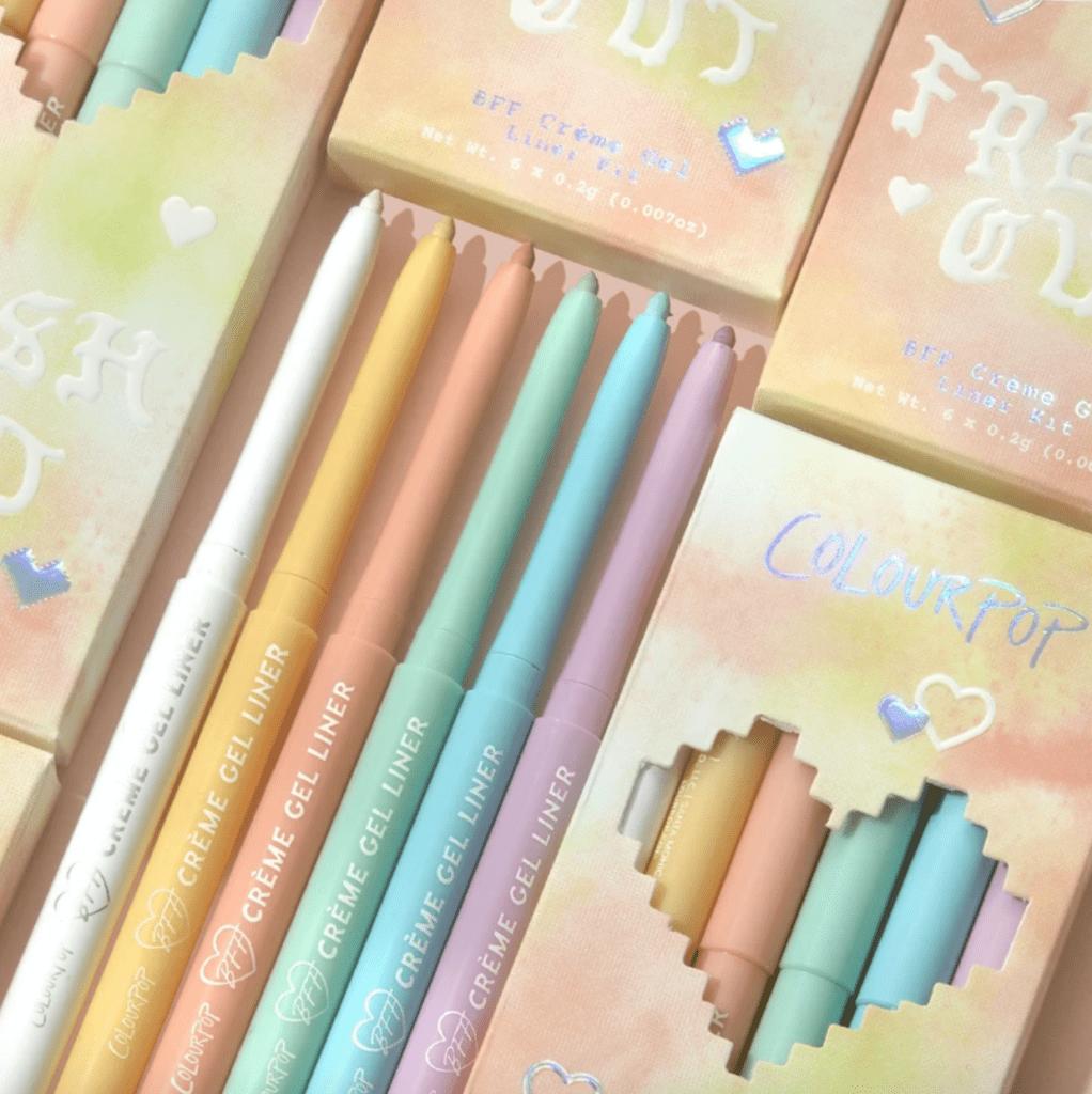 Colourpop Pastel Tie Dye Collection