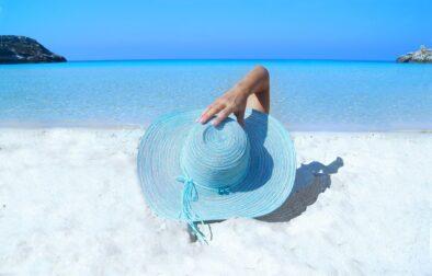 summer beauty on the beach