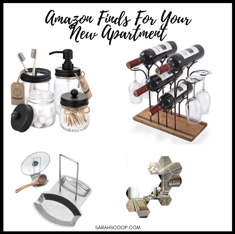 Collection of Amazon finds for your new apartment