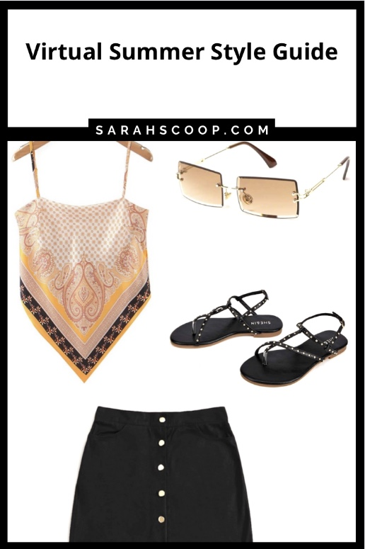 Pinterest image Virtual summer style guide