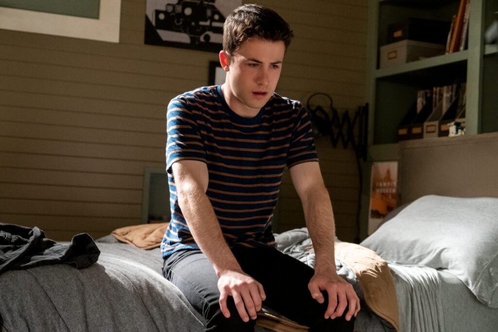 Dylan Minnette on 13 Reasons Why, a celebrity in a band