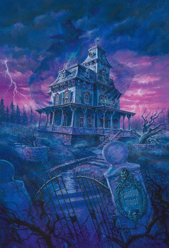 Disneyland attraction The Haunted Mansion