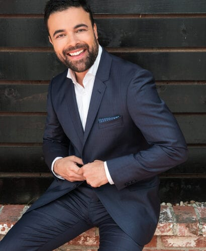 Portrait of actor James Martinez