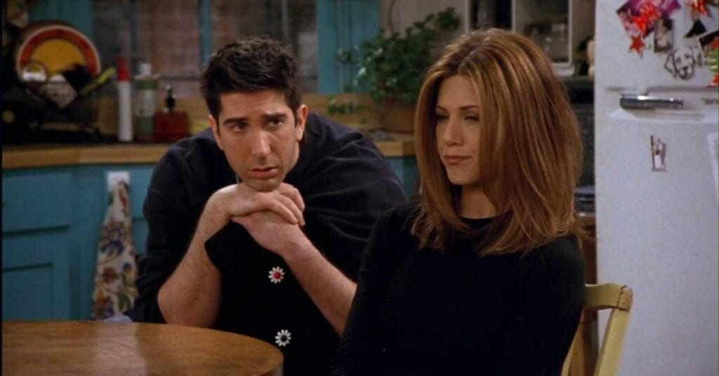 Ross and Rachel from Friends