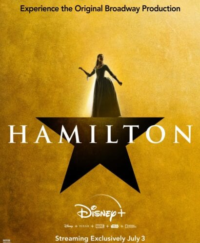 Phillipa Soo is Eliza Hamilton in Hamilton