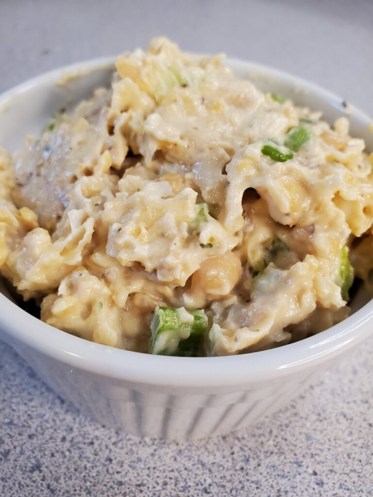 Vegan Chickpea Salad Sandwich mix