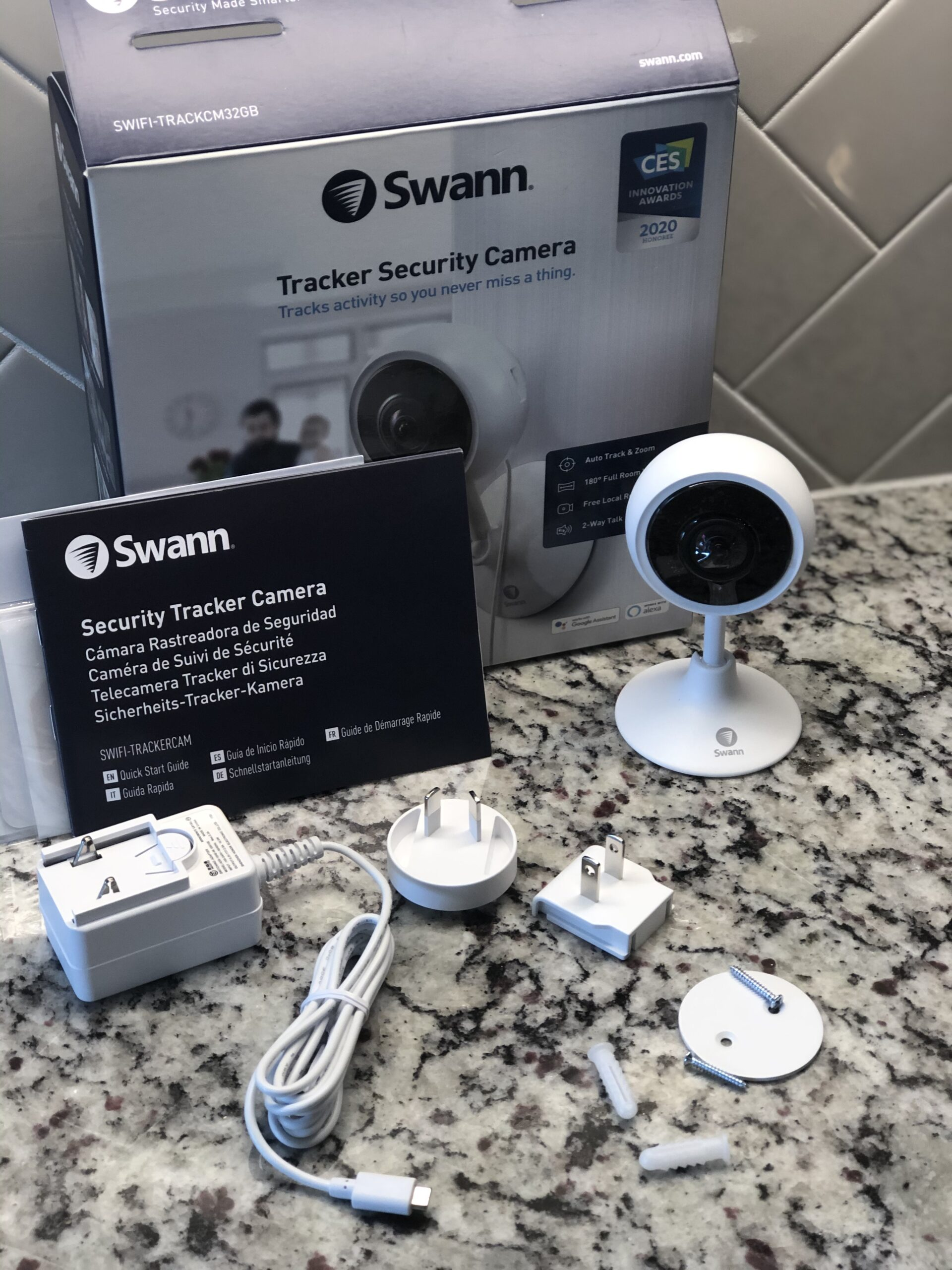 Swann WiFi Tracker Camera