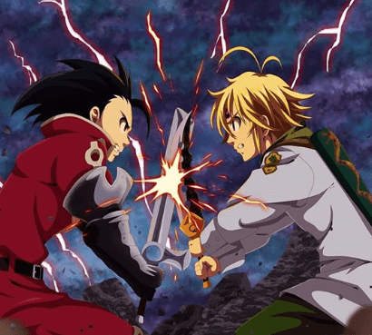 seven deadly sins fight scene