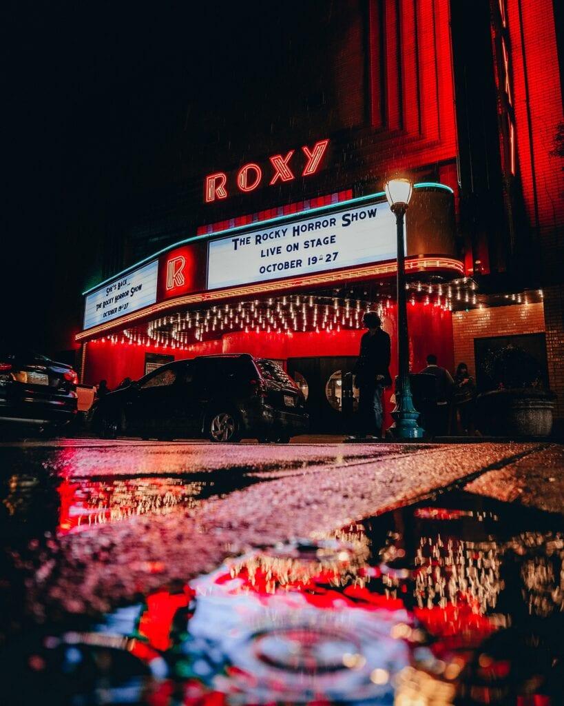 halloween movie theater