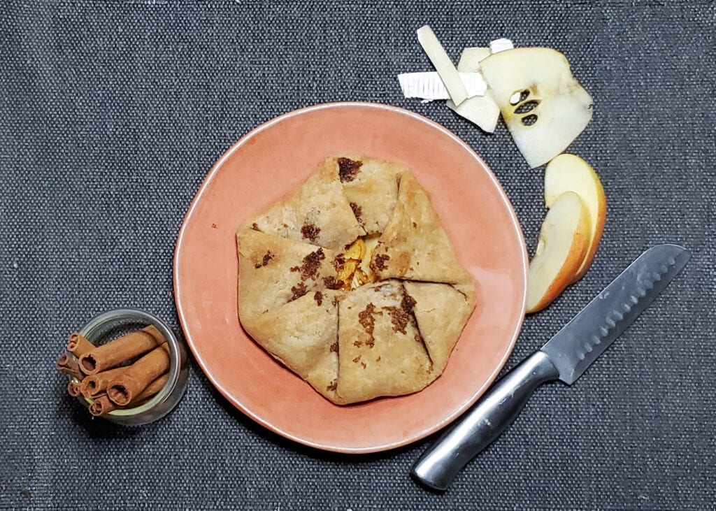 Apple Brie Galette