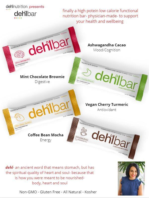 DehlNutrition bars Food Holiday Gift Guide