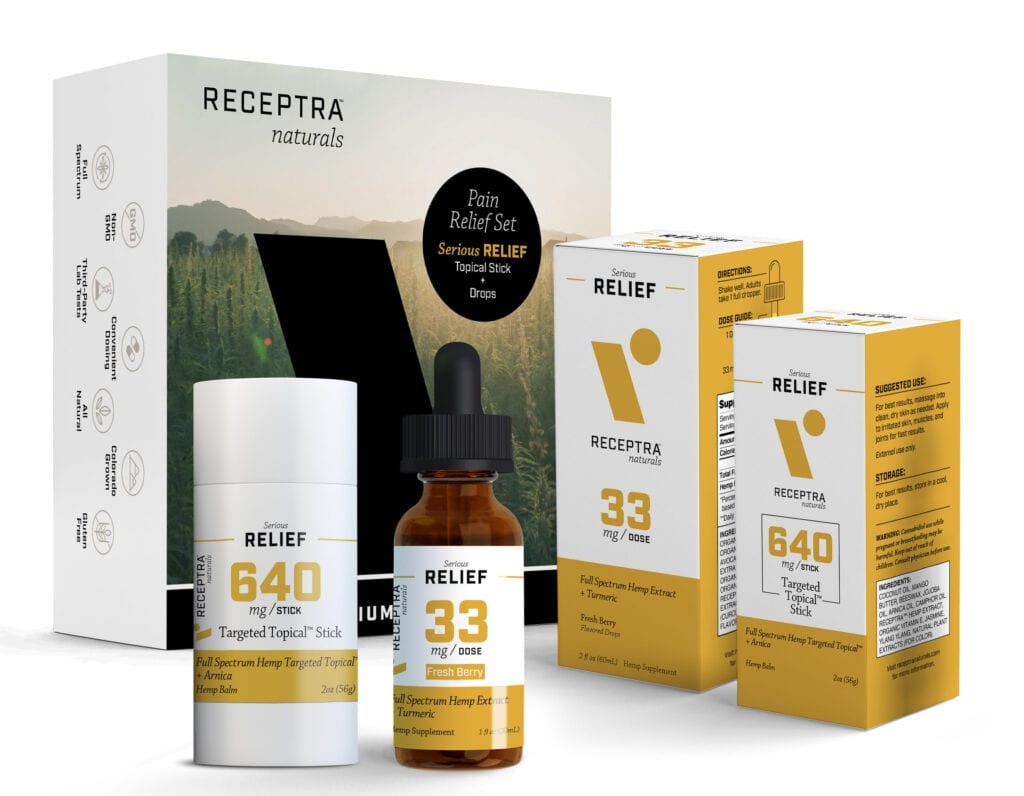 Receptra Joint Pain Box Set Health and Wellness Holiday Gift Guide