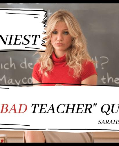 """bad teacher"" cameron diaz, updated"