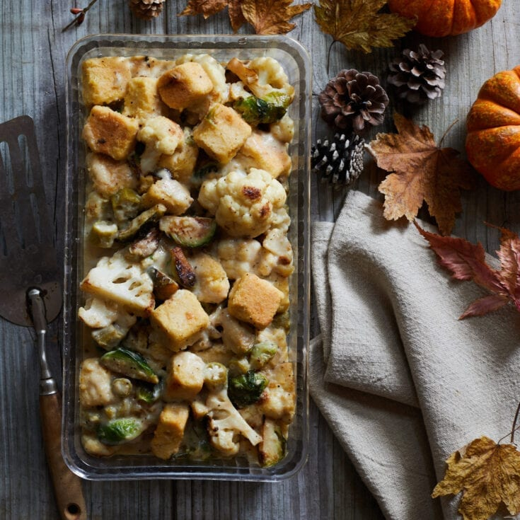 Cauliflower and Brussels Sprouts Dressing