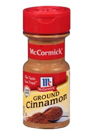 (2 Pack) McCormick Ground Cinnamon, 2.37 oz