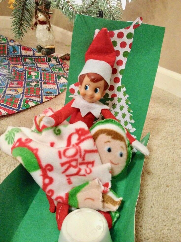 DIY Elf on the Shelf Matching Pajamas