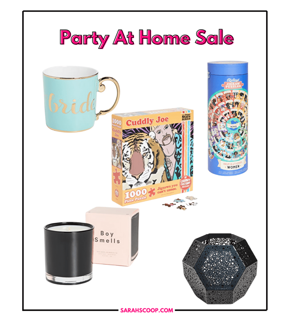 Party At Home Sale