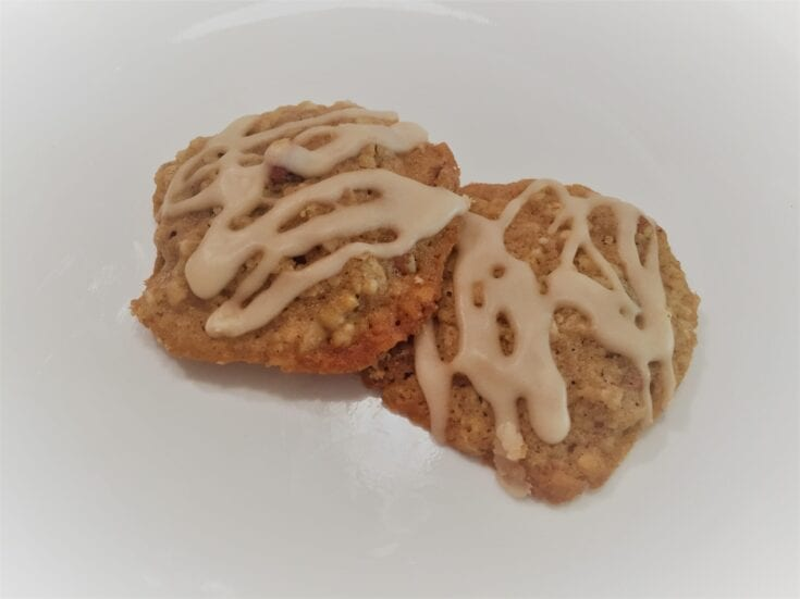Oatmeal Maple Pecan Cookies
