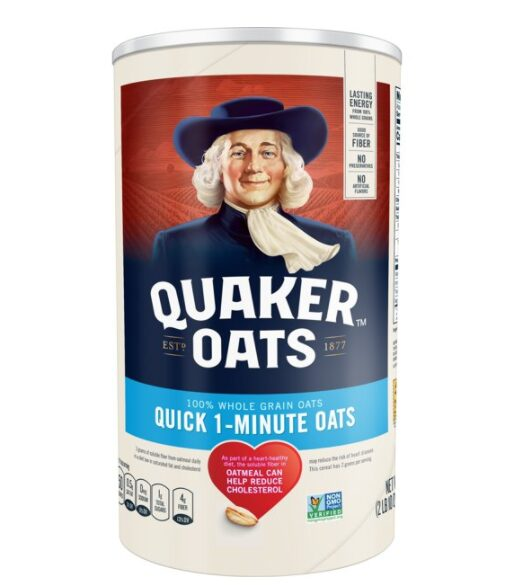 Quaker Oats, Quick 1 - Minute Oatmeal