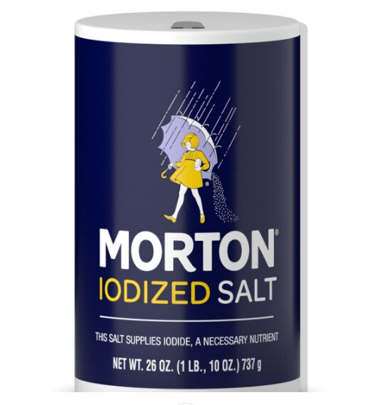 Morton Iodized Table Salt