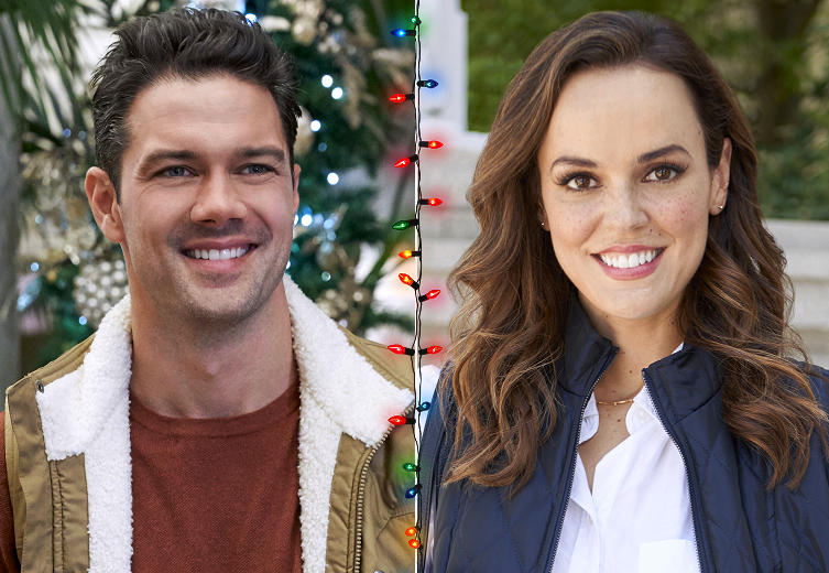 Ryan Paevey and Erin Cahill