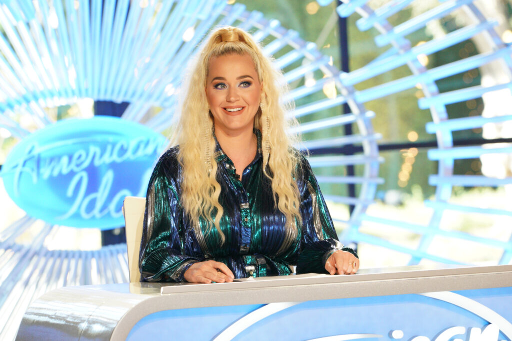 Katy Perry as a judge on American Idol