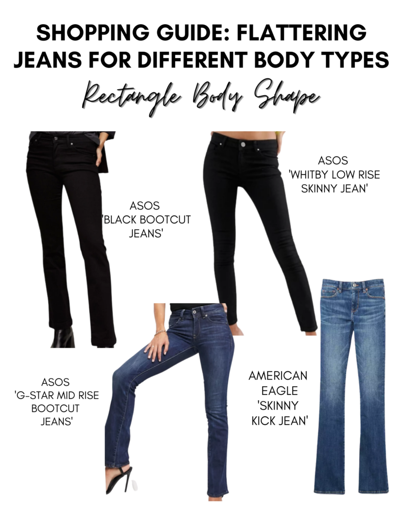 rectangle body shape guide
