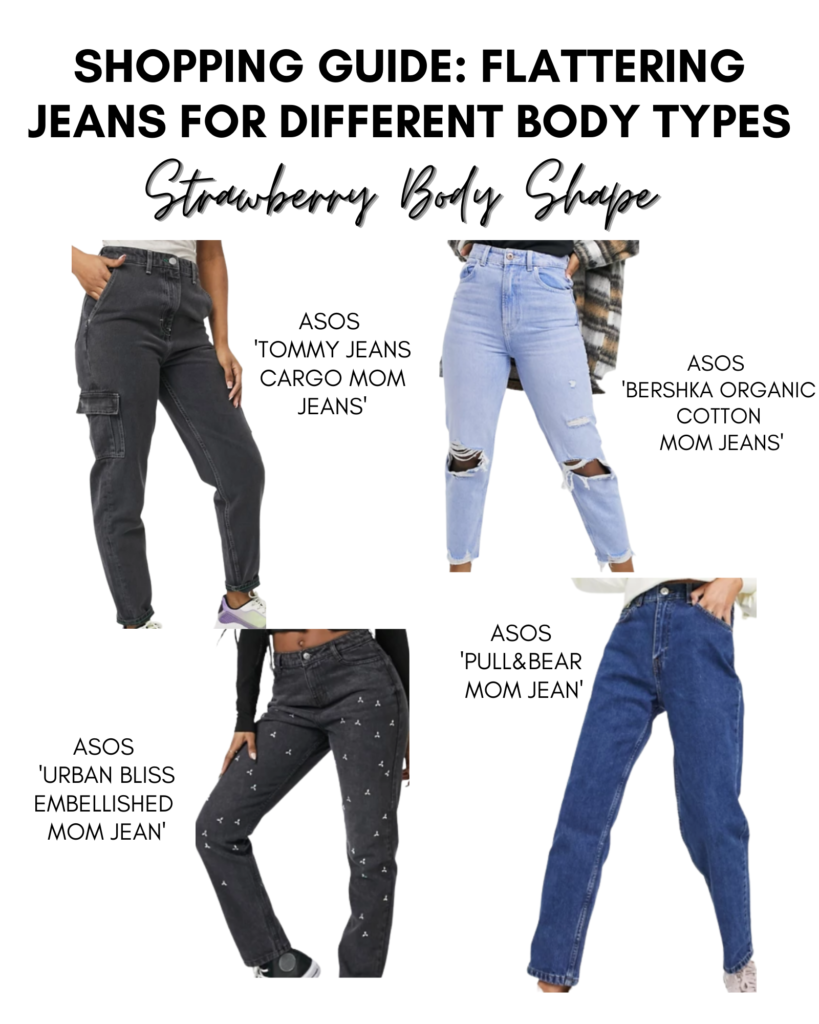 strawberry body shape jeans shopping guide