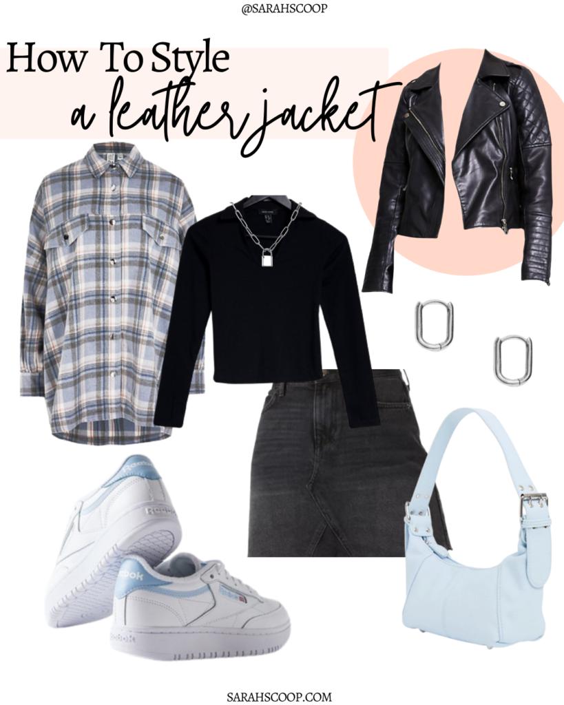 embrace the leather jacket edginess
