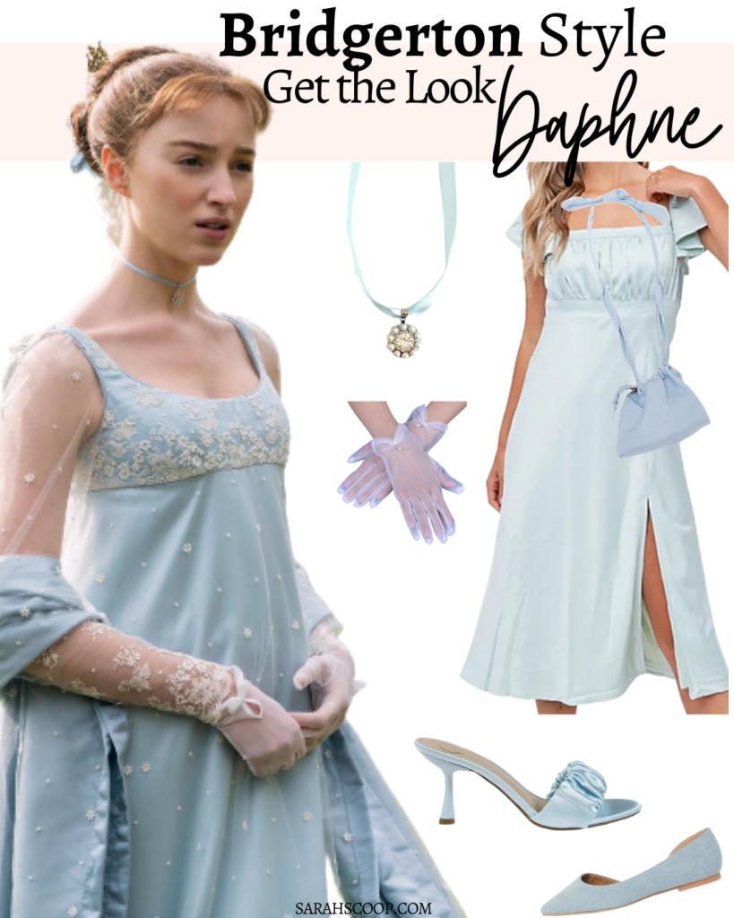 daphne bridgerton outfit