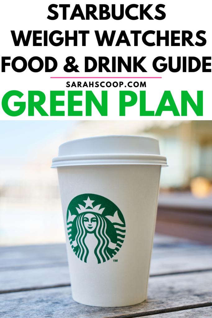 Starbucks Weight Watchers Green Points