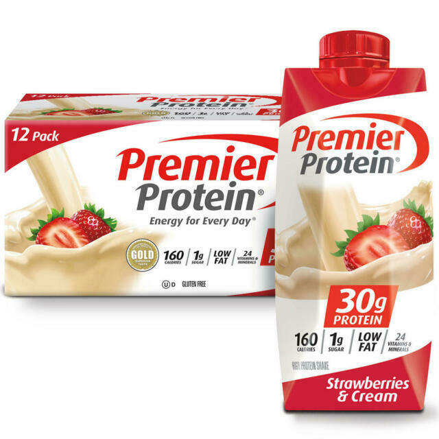 Premier Protein Shakes Weight Watchers Strawberries & cream