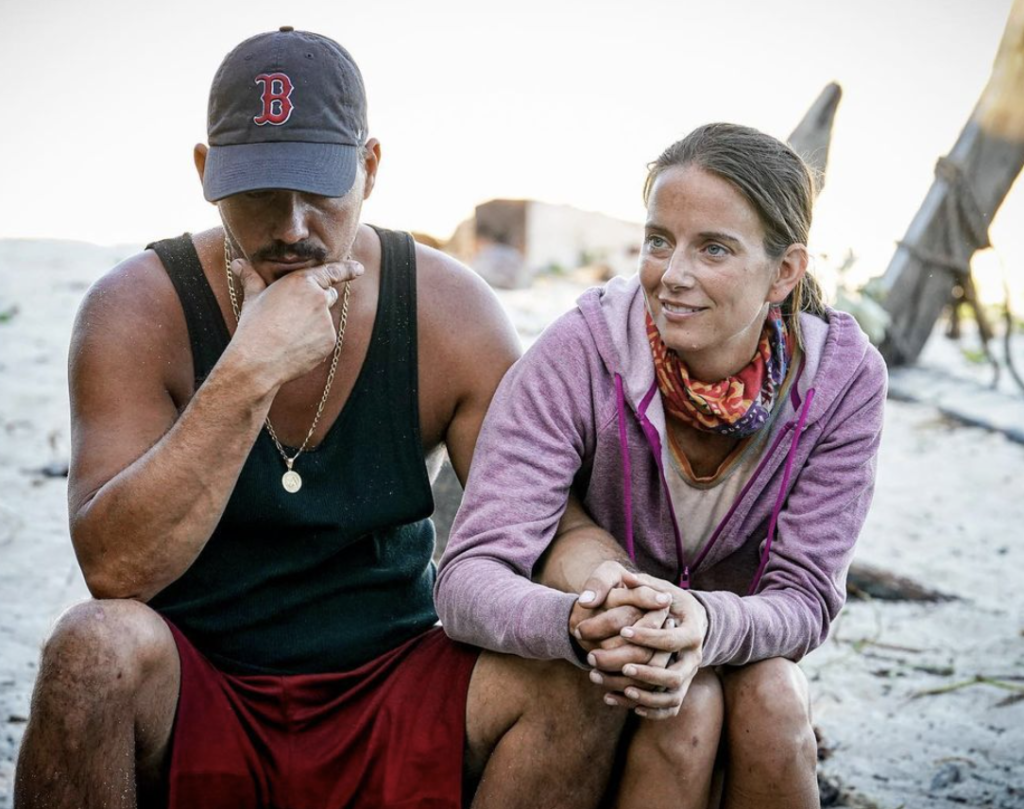 Survivor players Rob and Amber