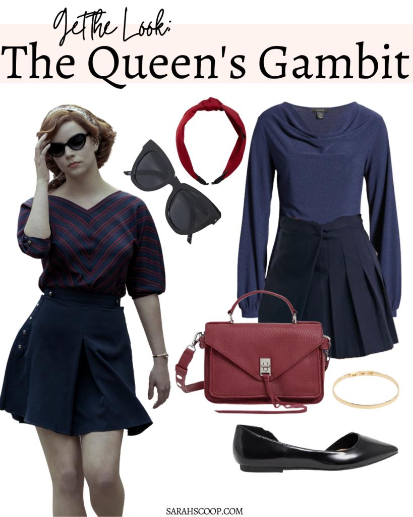 the queens gambit look 1