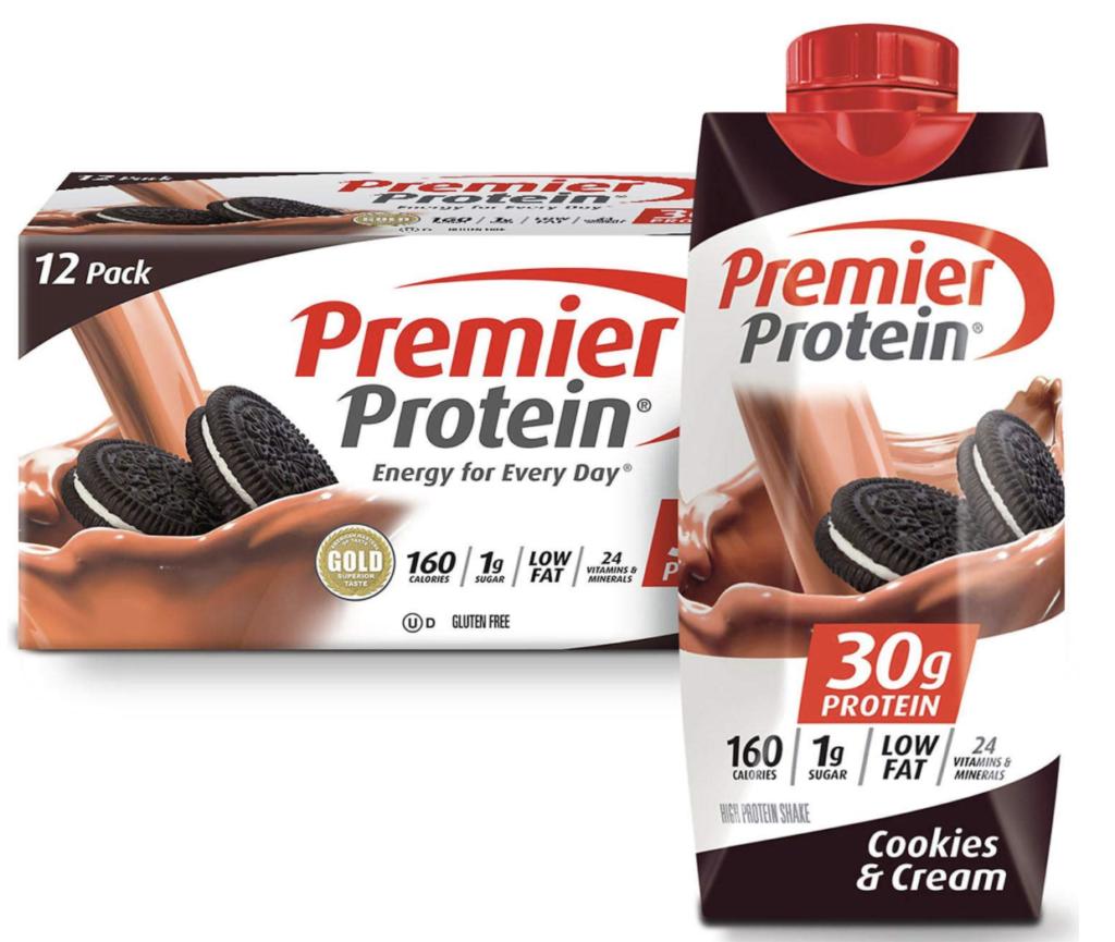 Premier Protein Shakes Weight Watchers Cookies & Cream
