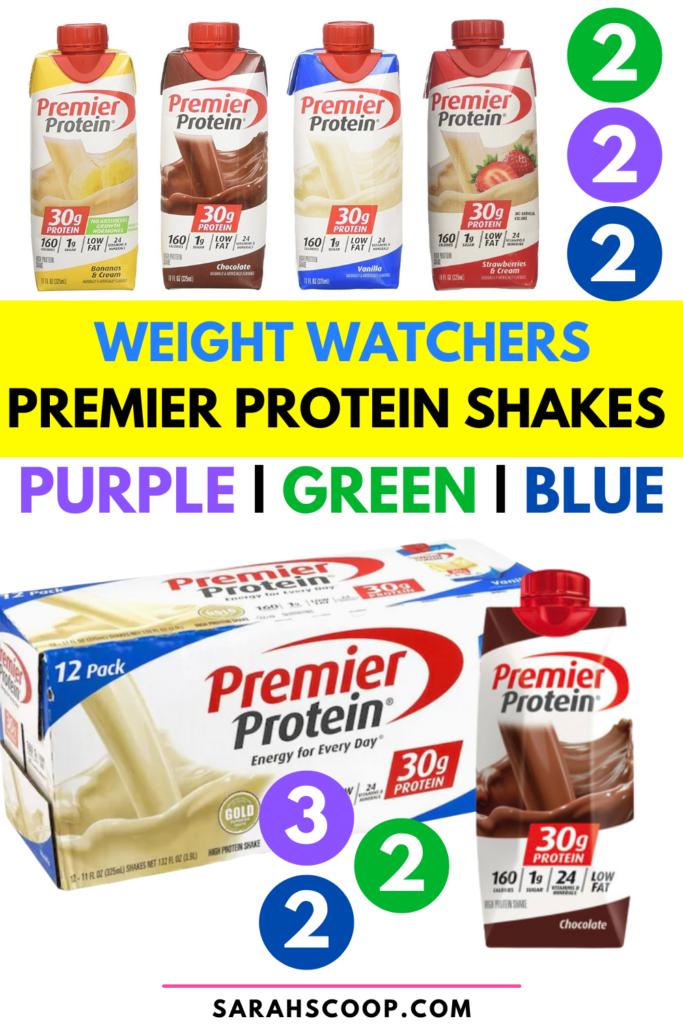 Premier Protein Shakes Weight Watchers