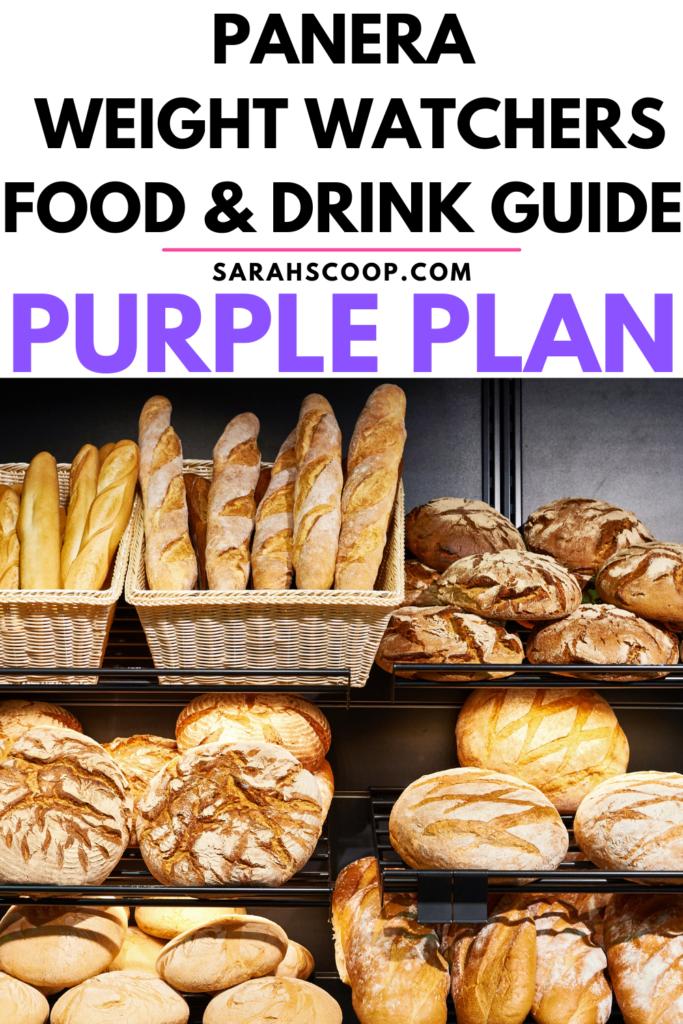 Panera Weight Watchers purple