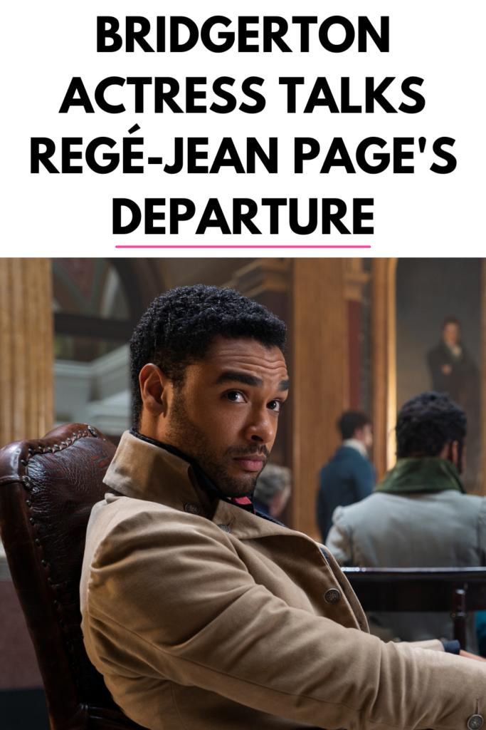Bridgerton Regé-Jean Page