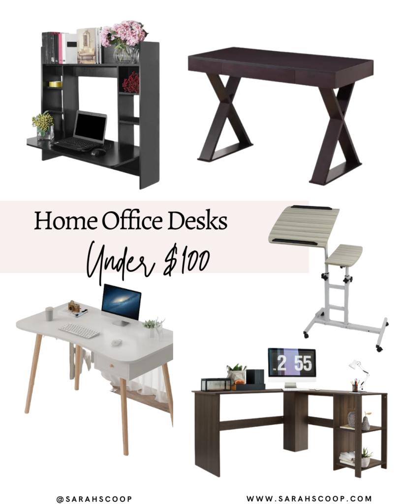 home office desks under $100
