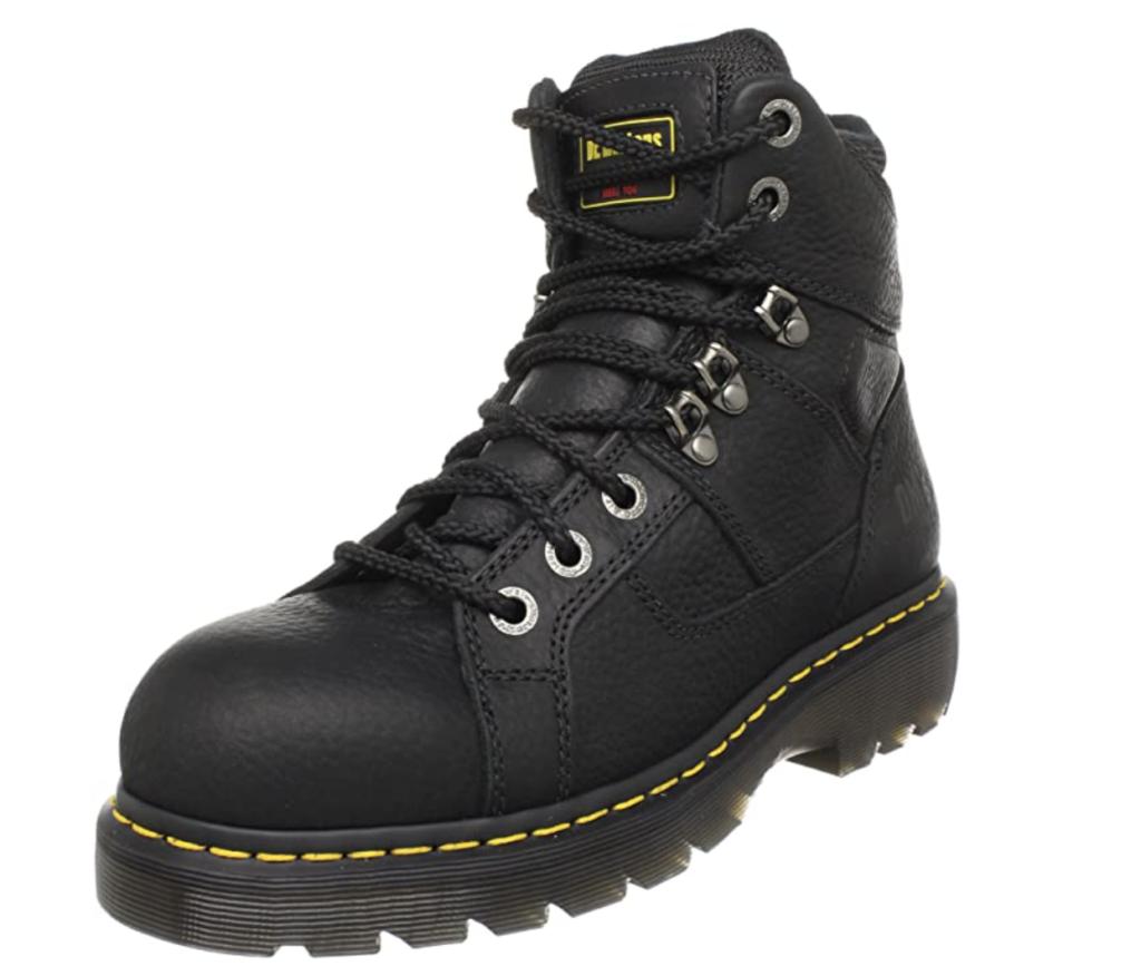Dr. Martens Ironbridge Steel Toe Boot; best steel toe shoes for women
