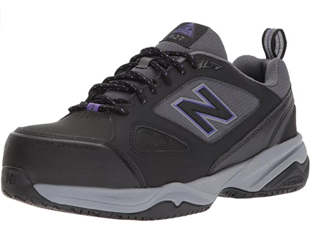 New Balance Women's Steel Toe 627 V2 Industrial Shoe; best steel toe shoes for women